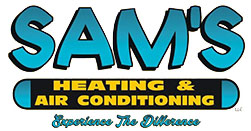 SAM's Heating & Air Conditioning Logo